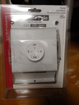 Baseboard thermostat for Sale in Milton, MA