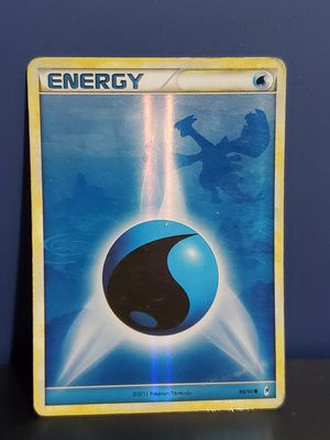 Water Energy 90/95 Holo Pokemon for Sale in Wendell, NC