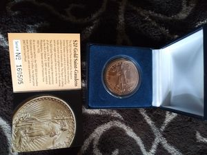 20$ gold saint proof coin for Sale in Tacoma, WA