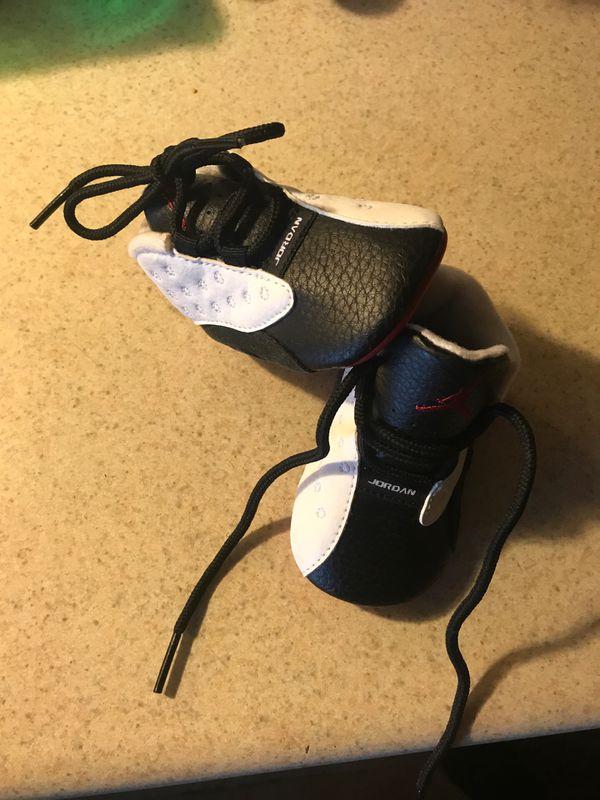 Baby size 2 Jordan 13s