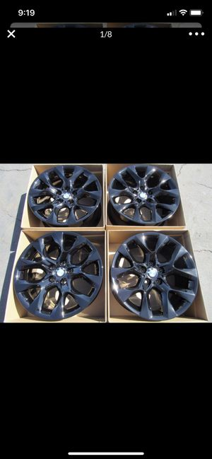 "19"" BMW X5 factory wheels 19inch gloss black rims X5 Bmw for Sale in Los Angeles, CA"