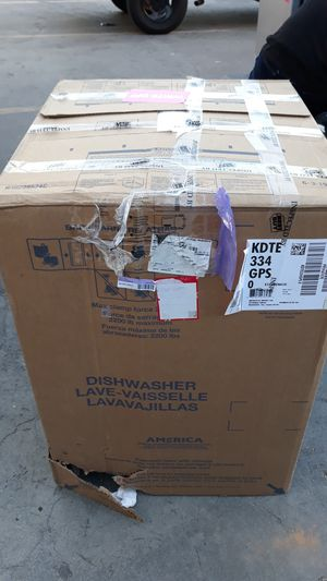 Kitchen Aid KDTE334GPS Dishwasher for Sale in Whittier, CA