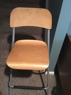 IKEA folding chair,used but same like a new ,4 pieces for Sale in Springfield, VA