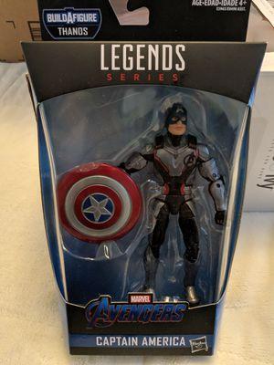 Marvel Legends Avengers Endgame Captain America for Sale in Aspen Hill, MD
