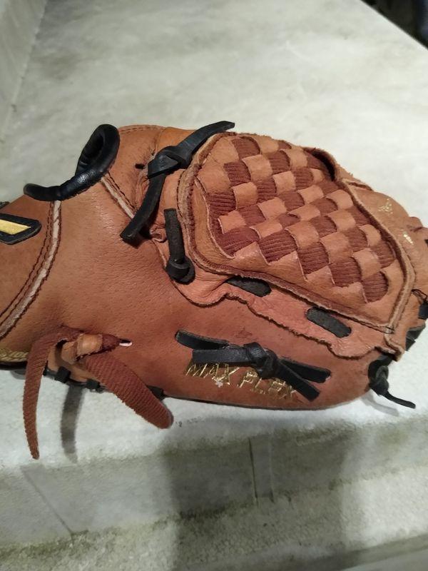 Size ten baseball glove