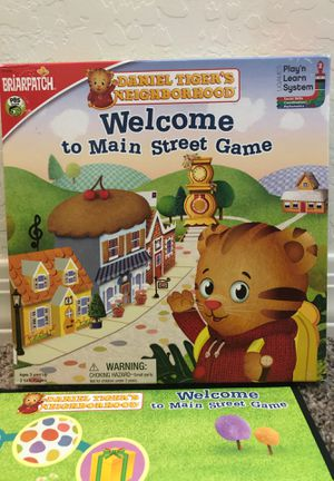 Daniel Tiger Welcome to Main Street Game for Sale in Peoria, AZ