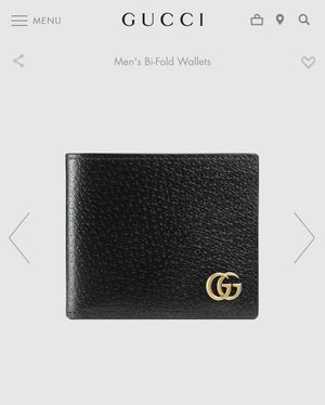 Gucci GG Marmont leather bi-fold wallet for Sale in Orland Park, IL