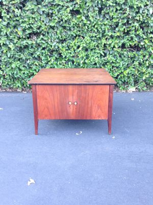 Mid Century Danish Modern Cabinet, Side Table, Nightstand, End Table, Accent Table for Sale in Pomona, CA