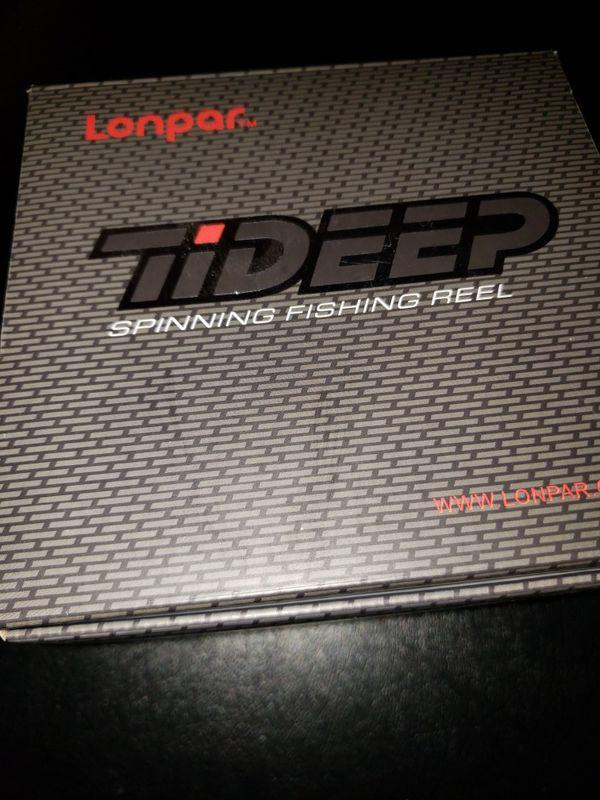LONPAR Tideep spinning fishing reel