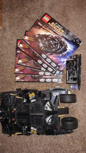 Lego Batman The Tumbler 76023 for Sale in Mesa, AZ