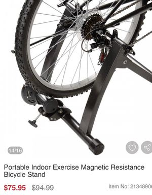 New indoor portable exercise bike stand for Sale in Rancho Cucamonga, CA