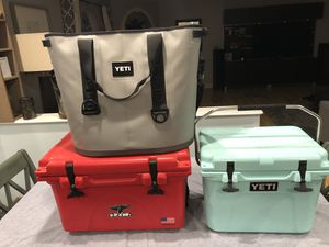 Yeti coolers for Sale in London, OH
