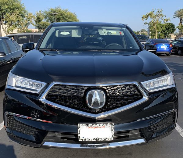 2017 Acura MDX Tech Package Ebony Black Pearl For Sale In
