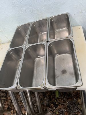 Stainless steel vollrath food storage restaurant $60 for Sale in North Miami, FL