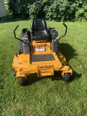 Zero turn cub cadet riding lawn mower for Sale in Joliet, IL