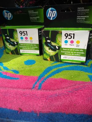 printer ink Cyan Magenta, & Yellow Ink) for Sale in Three Rivers, OR
