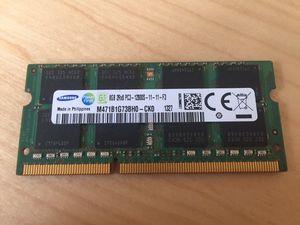8 GB Stick of Samsung DDR3 12800 RAM for Sale in Naperville, IL