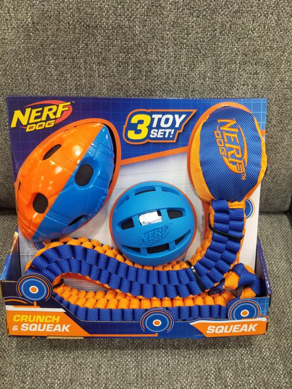 Nerf Dog Toy Set