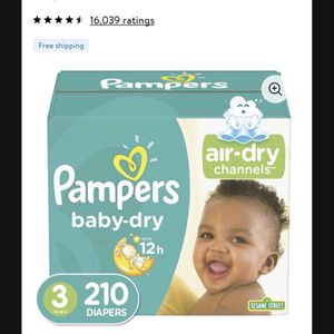 Pampers Size 3 for Sale in Bell, CA