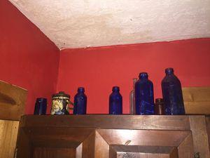 5 blow colbolt bottles for Sale in Pennsboro, WV