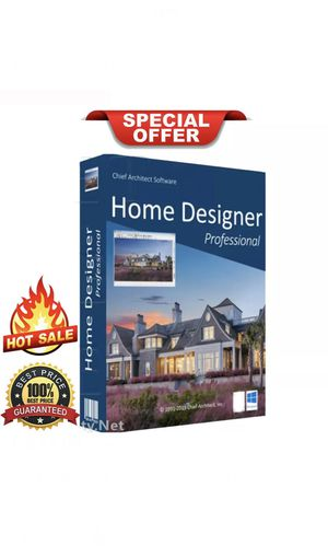 Chief Architect Home Designer Pro 2020 🔥 Official Download 🔑 Lifetime License Digital Download for Sale in Beverly Hills, CA