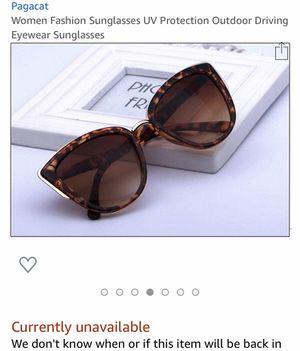 Women Fashion Sunglasses $20 ea or $35 both for Sale in Moreno Valley, CA