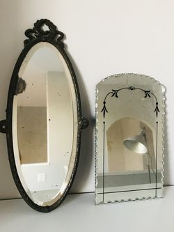 Estate Sale Treasures - 2 beautiful antique mirrors for Sale in Irvine,  CA