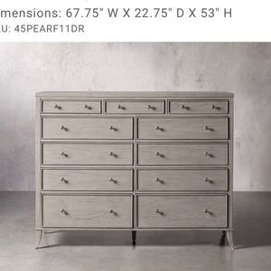 Arhaus Bedroom Set for Sale in St. Charles, IL