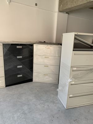 Need gone!!file cabinets have many!!! for Sale in Miami, FL