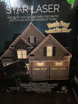 Christmas projector! For outdoor decorations for Sale in Vernon, CA