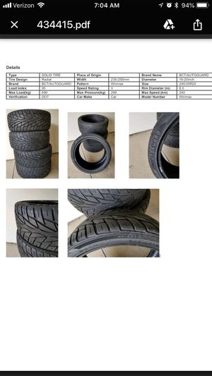 REDUCED!! LN BCT/Autoguard Winmax Radial Car Tires for Sale in Livonia, MI