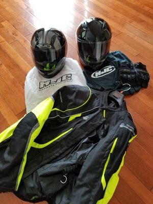 Motorcycle gear for Sale in MONTGMRY, IL