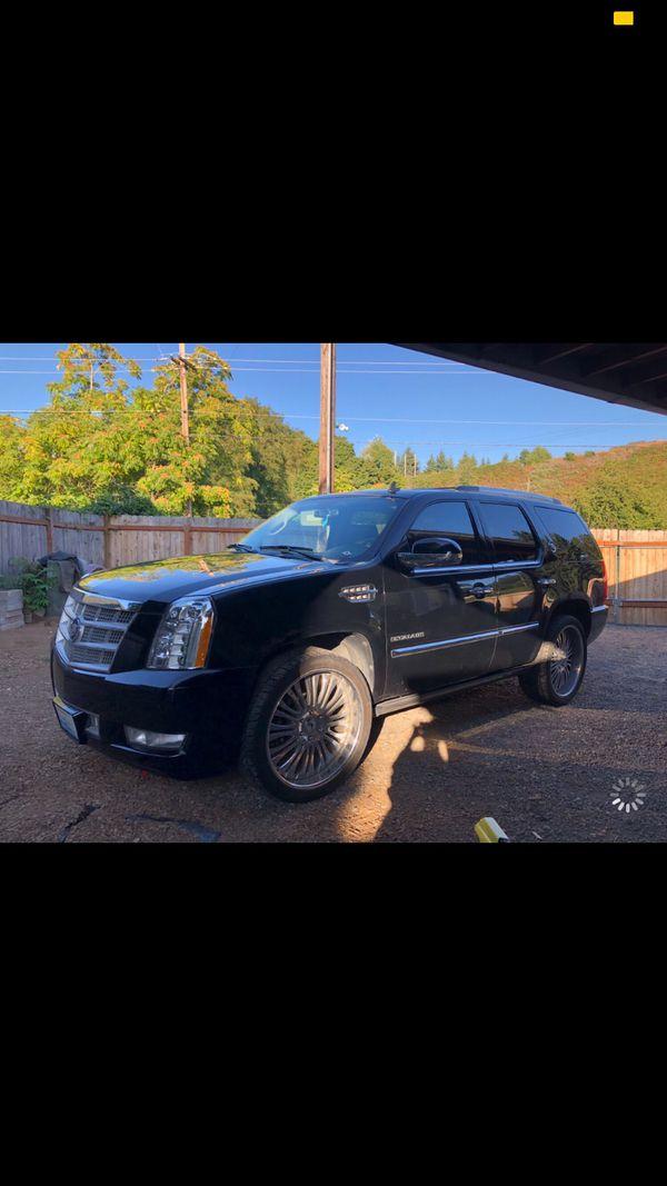 Cadillac Escalade platinum 2012