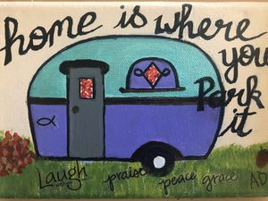 """Retro Camper """"Home is Where You Park it"""" for Sale in Arlington, TX"""