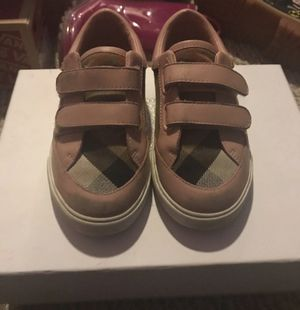 Girls Burberry Sneakers for Sale in Raleigh, NC