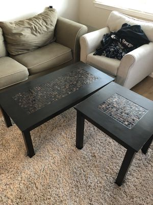 Coffee and end table for Sale in Cohasset, CA