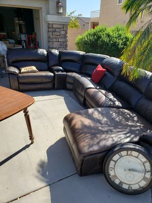 Ashley furniture electric reclining sectional for Sale in Goodyear, AZ