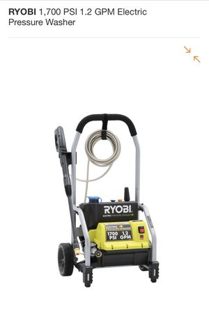 RYOBI 1,700 PSI 1.2 GPM Electric Pressure Washer NEW for Sale in San Diego, CA