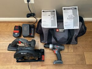 Porter cable 18V tool kit for Sale in Suffolk, VA