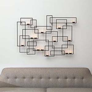 Crate & Barrel Circuit Metal Wall Candle Holder for Sale in Farmingdale, NY