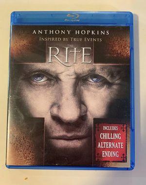 The rite Blu-Ray dvd for Sale in Lincoln, NE