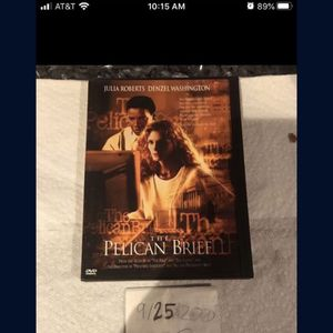 Pelican Brief DVD for Sale in Fort Lauderdale, FL