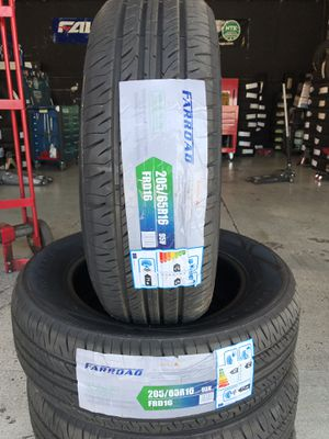 BRAND NEW SET OF TIRES 205/65r16 205/65/16 for Sale in Rialto, CA