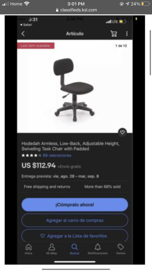 Office chair for Sale in West Valley City, UT