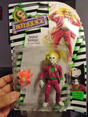Beetlejuice SpinHead Action Figure 1989 Kenner $20 FIRM for Sale in Queen Creek, AZ