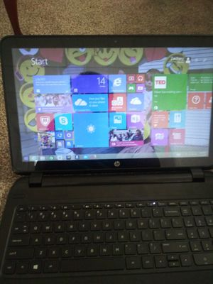 Hp 15 notebook for Sale in Ringtown, PA