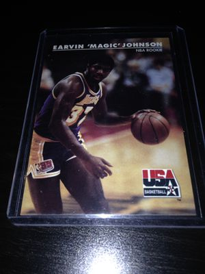 1992 SkyBox USA Basketball Magic Johnson #29 NBA Rookie for Sale in Los Angeles, CA