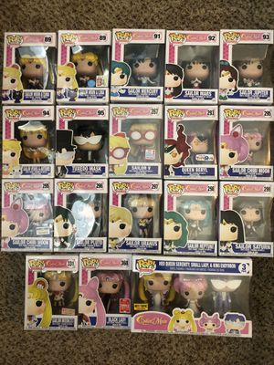 Funko Pop sailor Moon Collection for Sale in Chandler, AZ
