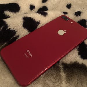 Apple iPhone 8plus 64gb Factory Unlocked Red for Sale in Flat Rock, MI