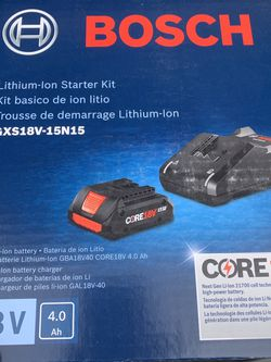 Bosch 18v 4ah battery and charger for Sale in Knoxville,  TN